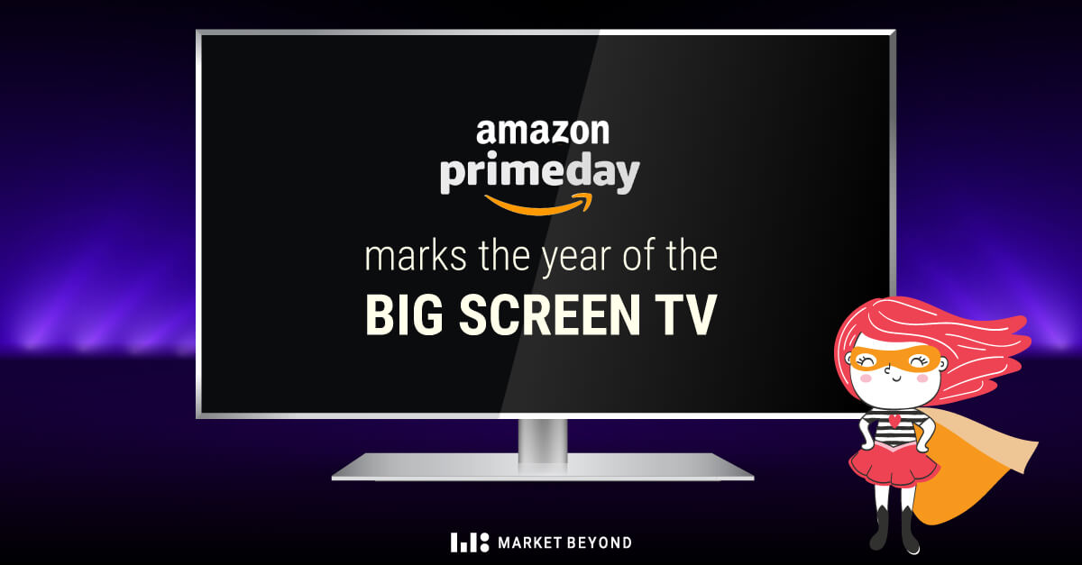 What's the Perfect Size for a TV? Our Amazon Prime Day Data Reveals All
